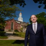 Even in the midst of the pandemic, though, University life continued on: UConn welcomed Carl Lejuez as its new provost in June. (Peter Morenus/UConn Photo)