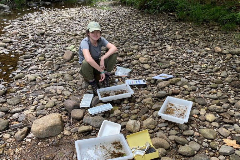 Chloe Edwards. Photo: Farmington River Watershed Association.