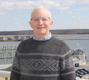 UConn Professor Emeritus Bob Pomeroy, who is working on the new seaweed industry initiative.