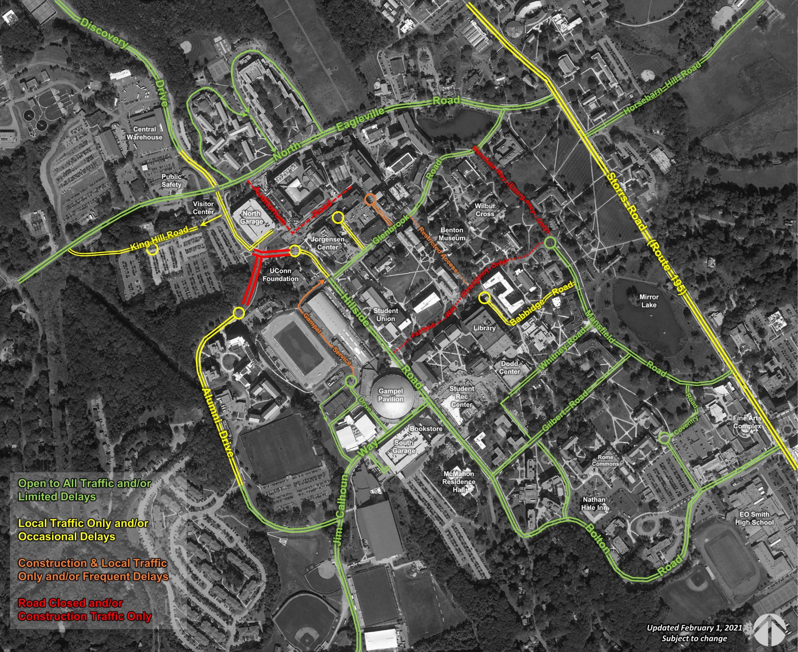 map of construction plans