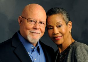 Carlton and Barbara Molette, who have endowed the only Africana Studies scholarship at UConn.