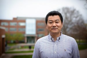As a statistician, associate professor Kun Chen consults broadly on studies that use data science to address public health problems.