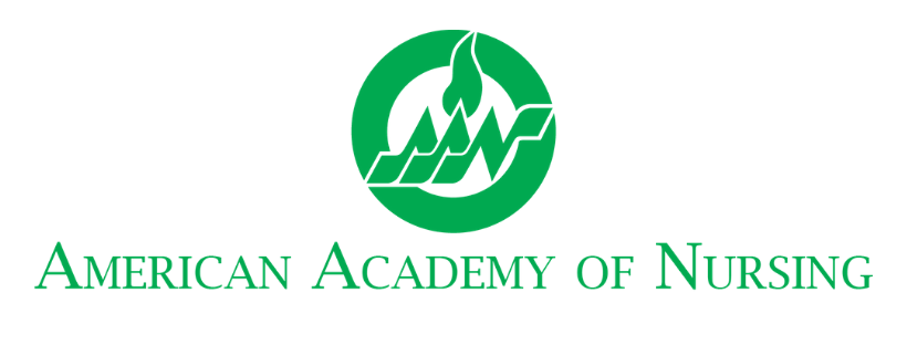 A logo that reads American Academy of Nursing.