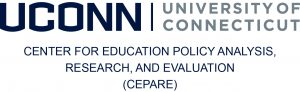 UConn Center for Education Policy Analysis, Research, and Evaluation (CEPARE) logo.