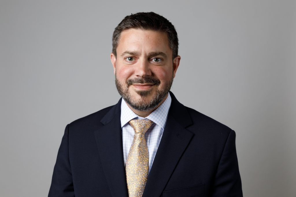 Jake Lemon, newly named President and CEO of the UConn Foundation.